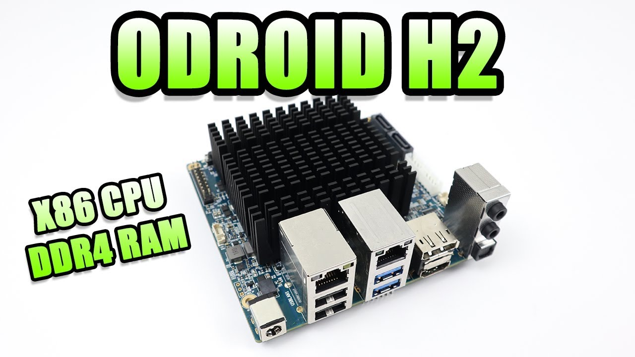 ODROID H2 First Look - Benchmarks - Gameplay - Emulation by ETA PRIME