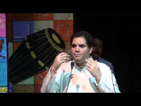 MP VARUN GANDHI AT PEOPLE'S UNIVERSITY BHOPAL ADDRESSING YOUTH WITH HIS MOTIVATIONAL SPEECH