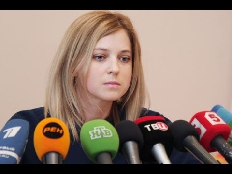 Наталья Поклонская vs Мустафа Джемилев