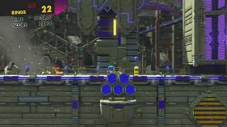 Sonic Forces - Stage 28 All Red Star RIngs Iron Fortress (Eggman Empire Fortress)