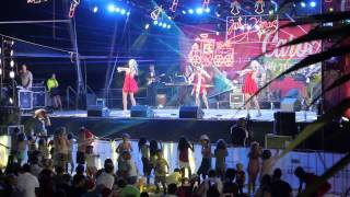 Maske LIVE Surfers Paradise Carols 2014