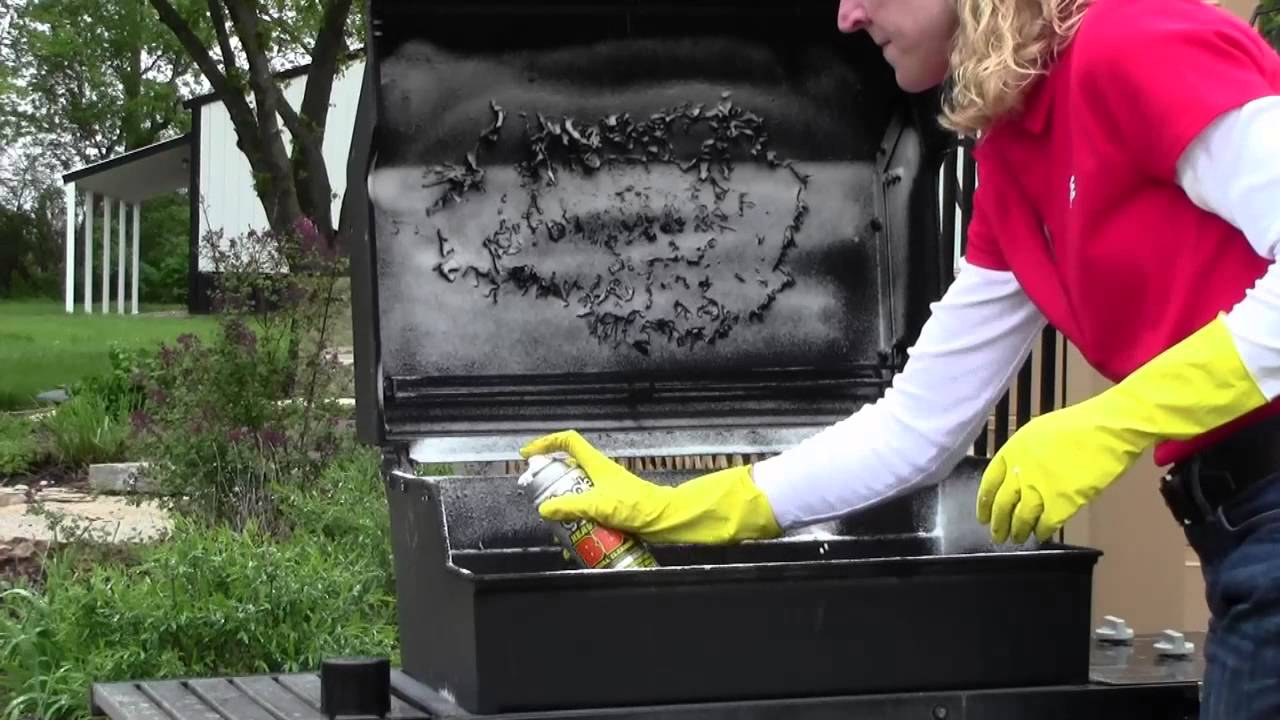 Cleaning Your Gas Grill   FunnyCat.TV