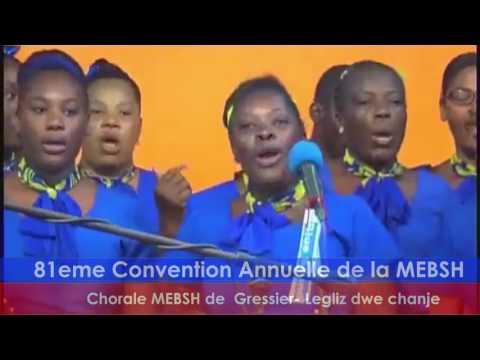 Chorale de gressier - Legliz dwe chanje