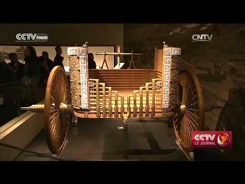 Région du Gansu : une ancienne carte chinoise montre une haute technologie de restauration