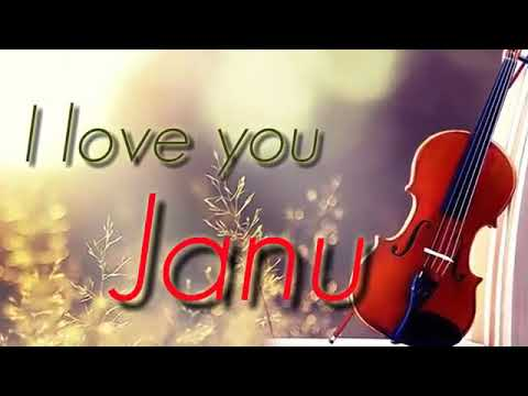 I love you Janu WhatsApp status KP