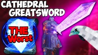 Dark Souls 3: Cathedral Knight Greatsword PvP - Literally THE WORST Type Of DS3 Player...killme