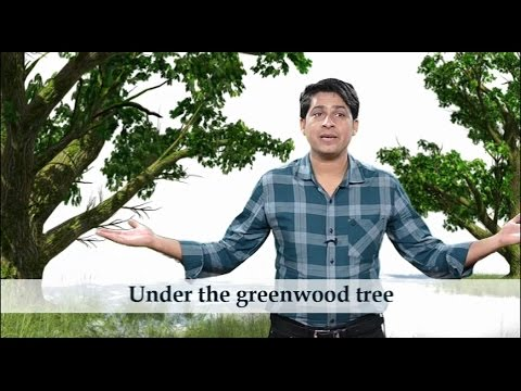 UNDER THE GREENWOOD TREE (William Shakespeare)