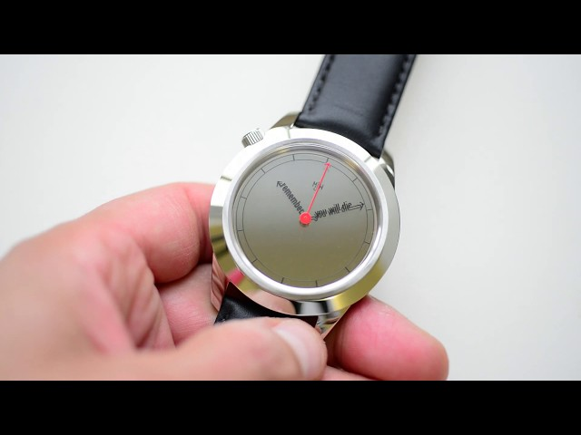 The Accurate XL watch by Mr Jones Watches