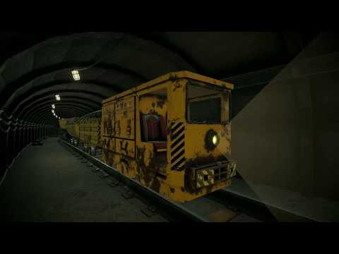 Mining Trolleys Pack - Demo Scene