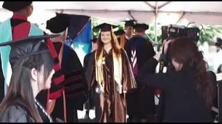 2012 graduation ceremony at tunxis community college part ii conferral of degrees