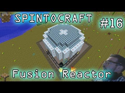 MINECRAFT ITA SPINTOCRAFT#16 Minechem Fusion reactor