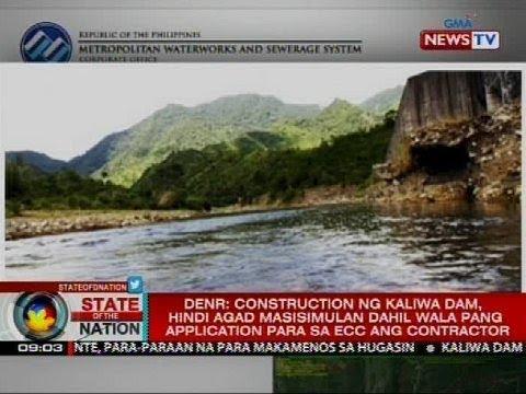 MWSS: Proseso para sa pagtayo ng Kaliwa Dam, umuusad na