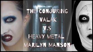 🎃仿妝 厲陰宅2瓦拉克惡魔修女 同場加映 瑪麗蓮曼森  The conjuring VALAK / Marilyn Manson makeup 萬聖節 Halloween nitata