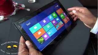 Lenovo ThinkPad Tablet 2 Hands-on- Windows 8