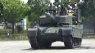 Pivot Turn 超信地旋回 of Type90 Tank, Japanese MBT