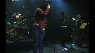 Burning Spear live at Rockpalats 1981 Germany - ״Follow Marcus Garvey
