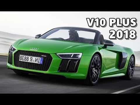 Audi R8 Spyder V10 Plus (2018)