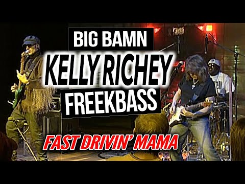 Fast Drivin Mama - The Kelly Richey Band LIVE at Sioux Falls SD JazzFest 2014