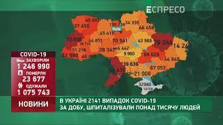 Коронавірус в Украі ні статистика за 8 лютого