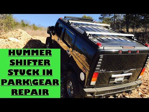 Hummer stuck in gear Repair.