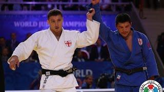Varlam Liparteliani (GEO) vs Beka Gviniashvili (GEO) -90kg Judo World Championships Astana 2015