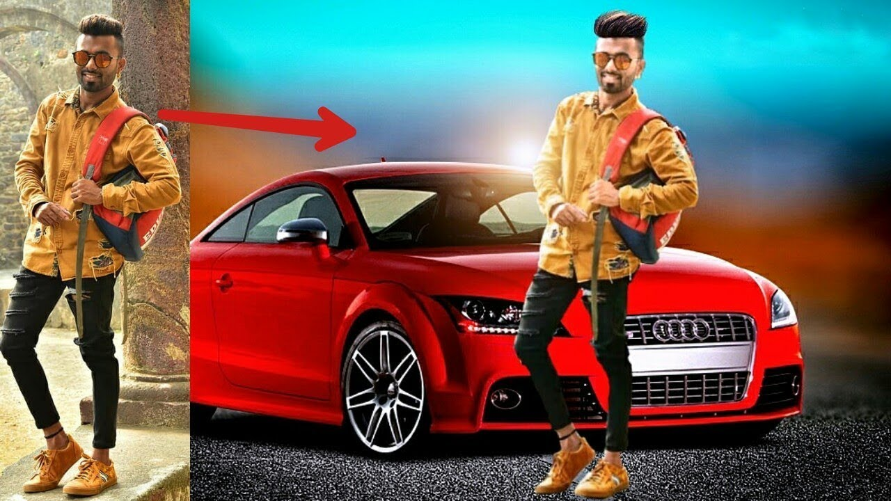 New Picsart Car Editing Background Change Picsart Editing How To