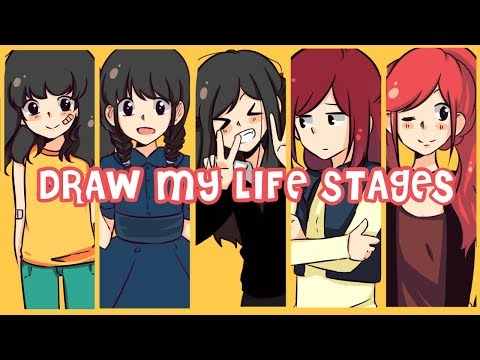 ☆Draw My Life Stages☆ EmiDraw