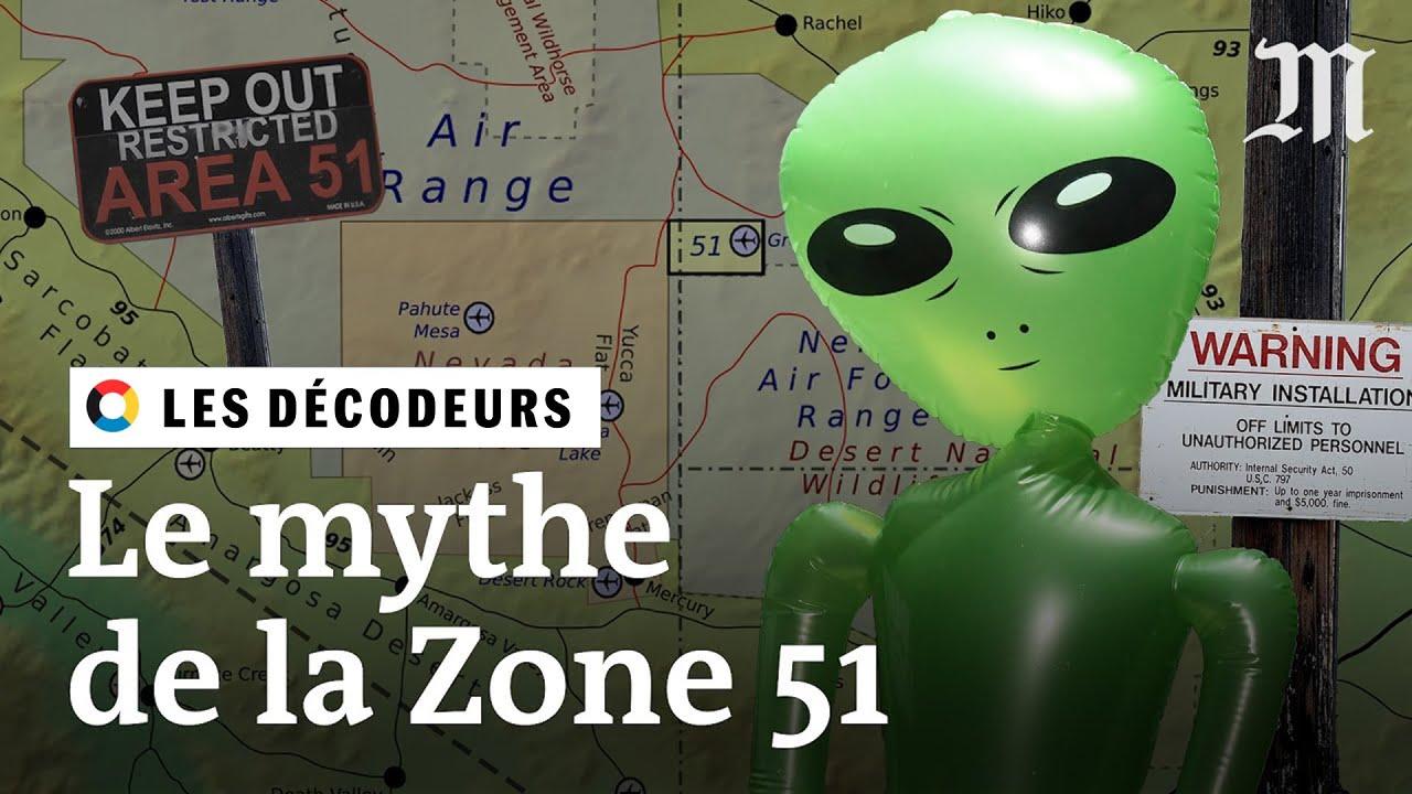 Zone 51 D Ou Vient Le Mythe Des Extraterrestres