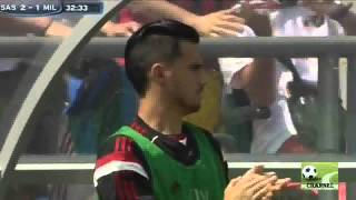 Video Gol Pertandingan Sassuolo vs AC Milan