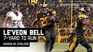 Le'Veon Bell Reverses Field to Score 7-yard TD! | Ravens vs. Steelers | NFL Week 16 Highlights