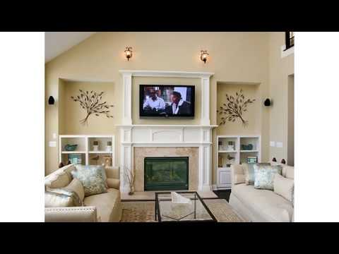 How To Gorgeously Stage A Fireplace And Tv Within The Same Room