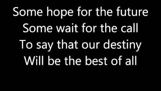 Paul McCartney - Hope For The Future (Lyrics)