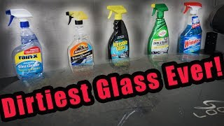 The ULTIMATE Glass Cleaner Test - Which one is the BEST?