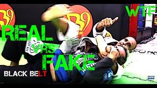 Real Black Belt Vrs. Fake Black Belt