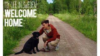 My Life in Sweden #1 - Jonas & Charlie Welcome Home! (in Dalarna, Sweden)