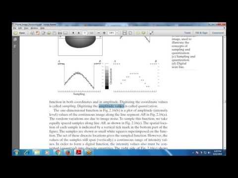Chapter-2 Digital Image Fundamentals (Image Sampling and Quantization)