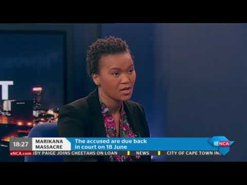 Representative of 36 families who were affected by Marikana massacre speaks to us