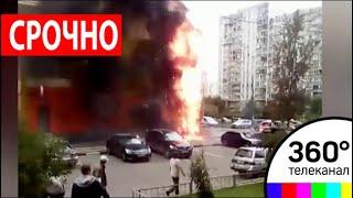 На Юго-западе Москвы пожар полностью уничтожил кафе