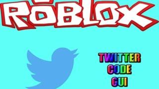 Roblox   Wie man Multi Code Twitter Gui macht