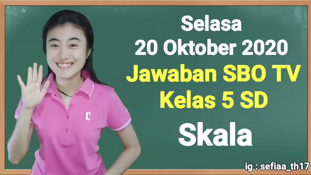 Kunci Jawaban SBO TV Kelas 5 SD Selasa 20…