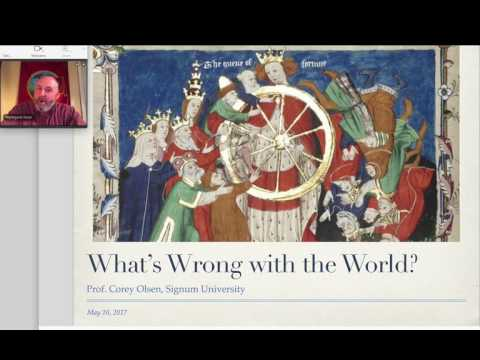 Boethius, Session 01 - Whats Wrong with the World