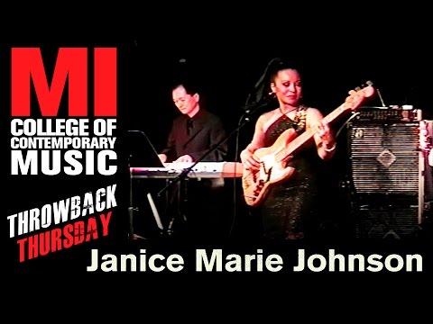 Janice Marie Johnson Throwback Thursday From the MI Vault 4/17/2003