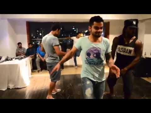 RCB Team Dance on Marathi Song !!!! MUST WATCH !!!! KOHLI !!! YUVRAJ !! CHRIS GAYLE !!!!!