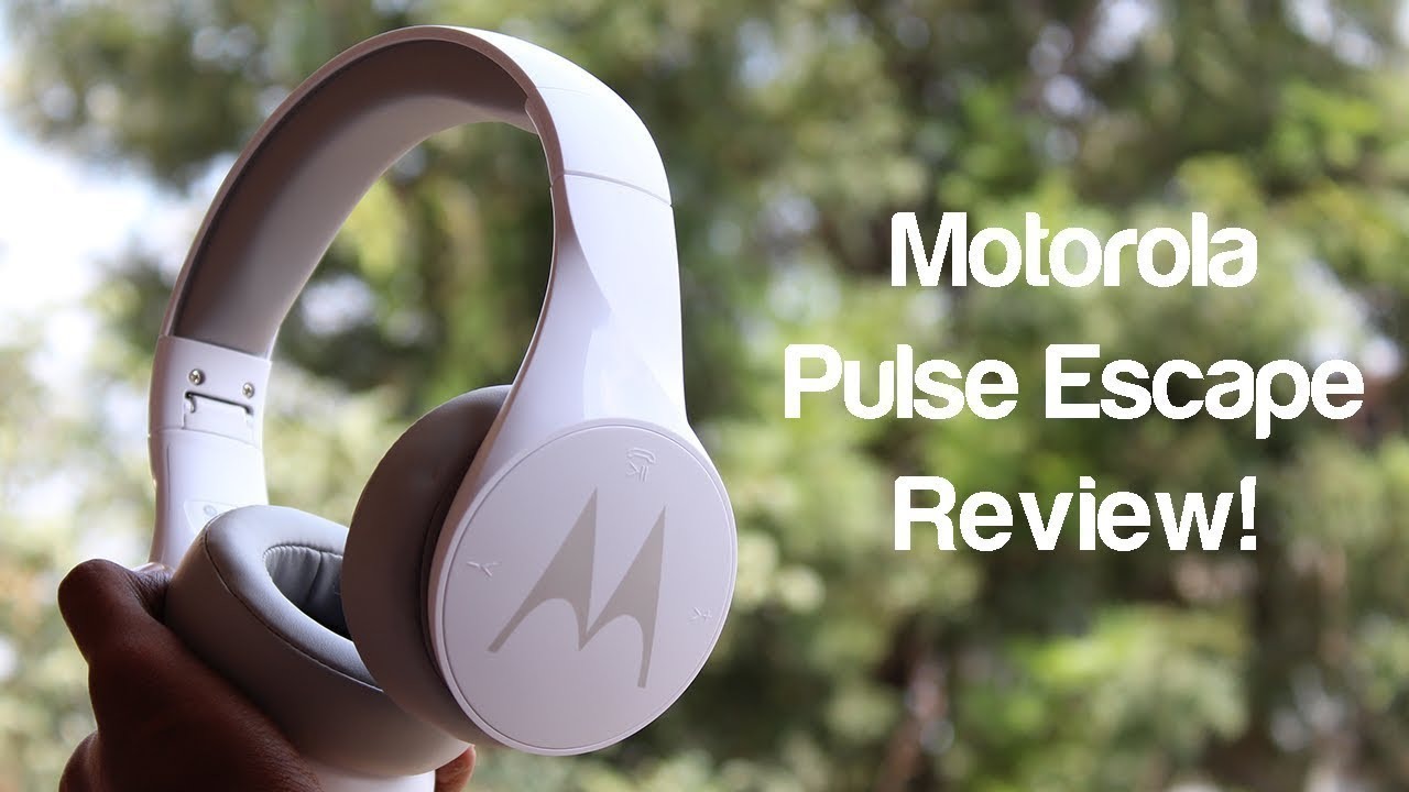 Motorola Pulse Escape Budget Wireless Bluetooth Over Ear Headphones Rs 2000 Youtube