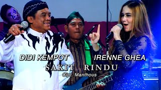 Didi Kempot Feat Irenne Ghea - Sakit Rindu  ( Official Music Video )