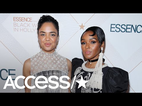 Tessa Thompson Says She & Janelle Monae 'Love Each Other Deeply' | Access