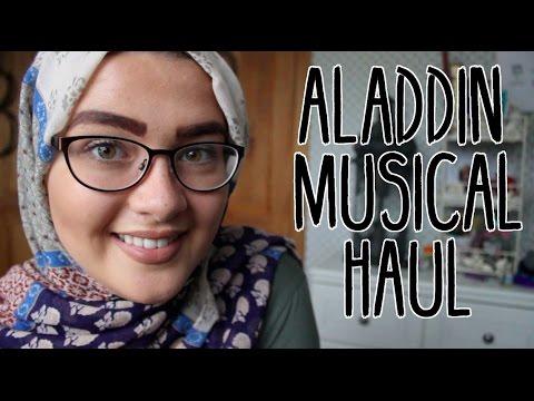 DISNEY ALADDIN MUSICAL HAUL || CODIE LOUISE