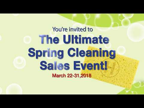 Hansel Spring Cleaning Sales Event
