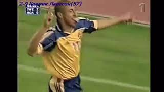 Henrik Larsson (Suécia) - 06/06/2001 - Suécia 6x0 Moldávia - 4 gols