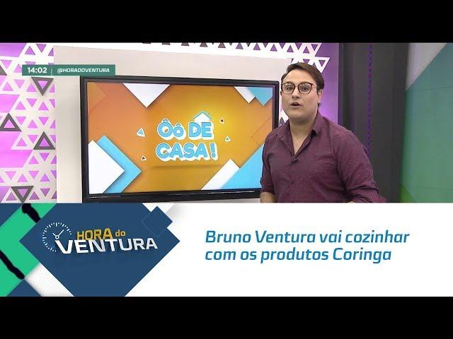 Ô de Casa: Bruno Ventura vai cozinhar com a Thaís e os produtos Coringa - Bloco 01